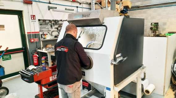 Subaru specialists in Italy use Vixen machine