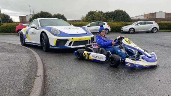 Vixen sponsors rising star for 2021 Kart season