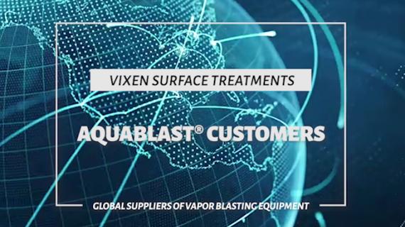 Vixen's Global Aquablast Customers