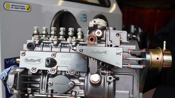 Diesel performance specialists uses Aquablast®1215