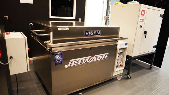Vixen's Jetwash Used As Part Of NDT Testing